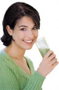 Enjoy Wheatgrass Drink